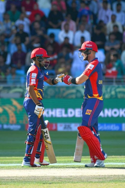 This opening partnership of 105 between Babar Azam and Liam Livingstone is the highest opening partnership ever for Kings. The old record was 72 between Babar & Kumar Sangakkara against Zalmi in 2017.