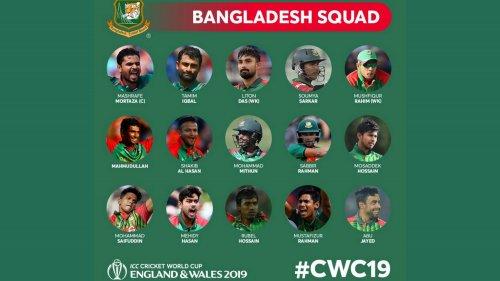 Bangladesh Squad