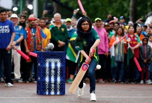 Nobel Prize winner Malala Yousafzai, Opening Party - ICC Cricket World Cup 2019