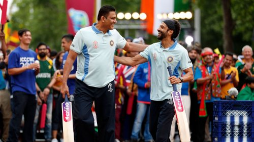 Anil Kumble, Opening Party - ICC Cricket World Cup 2019