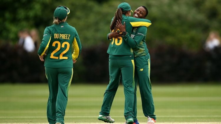 Masabata Klaas hat-trick, Laura Wolvaardt fifty lead South Africa to series-levelling win