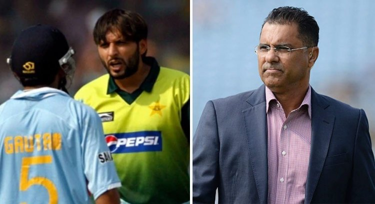 Waqar Younis wants Gautam Gambhir, Shahid Afridi to end their long-standing feud
